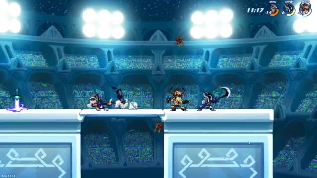 Watch and share Brawlhalla GIFs and Scythe GIFs by SmallWoofer on Gfycat