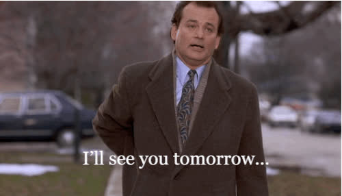 bill murray, see you later, see you tomorrow GIFs