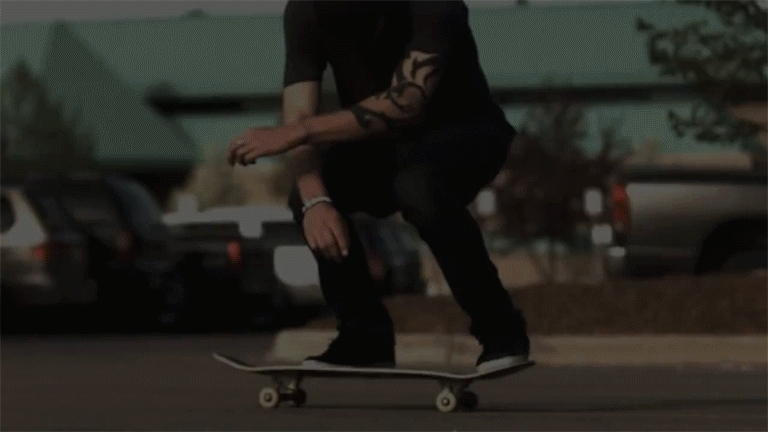 gifextra, gifing0fucks, Buttery-smooth 30fps slow-mo kickflip (reddit) GIFs