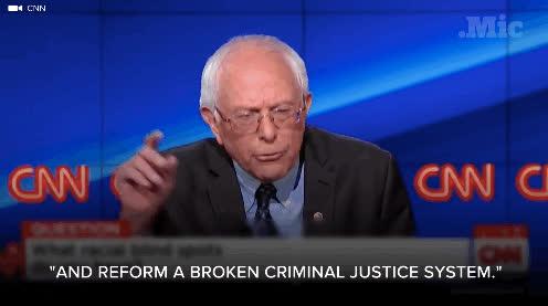 bernie sanders, Democratic Debate GIFs