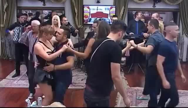 Watch Gastoz podigao Miljani suknju ,ona mu lupila samar - Parovi - (TV Happy 8.10.2015.) GIF on Gfycat. Discover more related GIFs on Gfycat