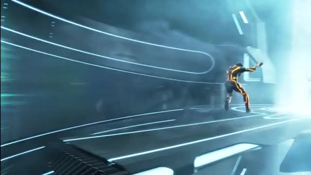 Watch and share Tron Legacy - Kevin Flynn And Clu Final Confrontation GIFs by chasebygfy on Gfycat