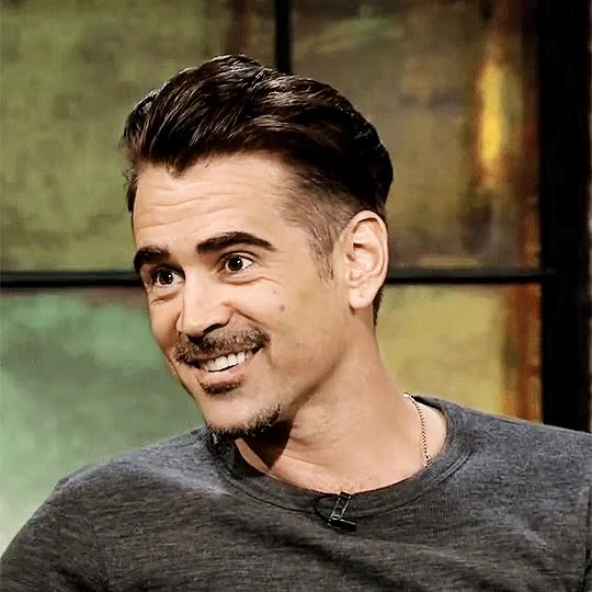 Watch and share Colin Farrell GIFs and Laughing GIFs on Gfycat