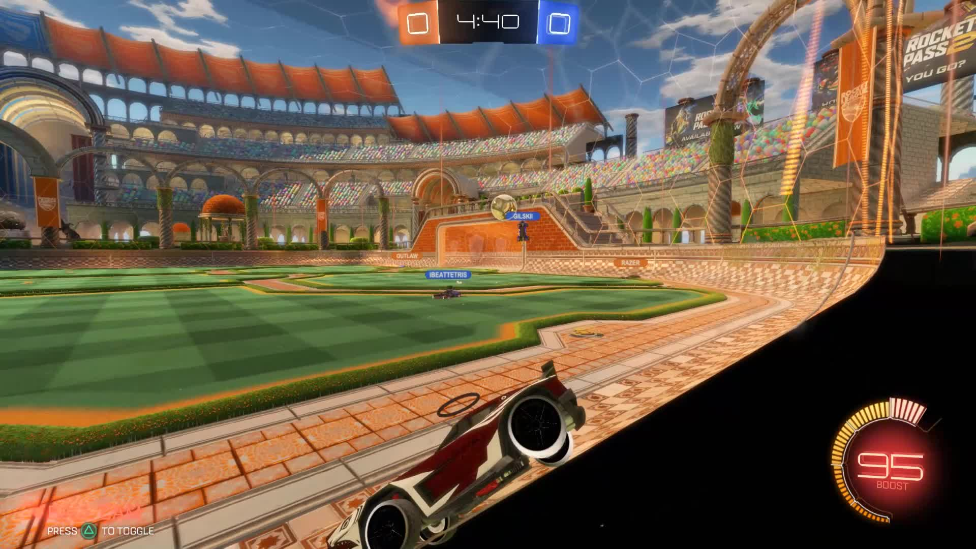 RocketLeague, turtle flick razer pass GIFs