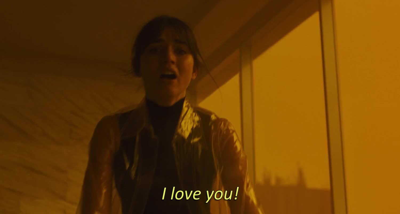 ana de armas, blade runner, blade runner 2049, i love u, i love you, joi, love ya, love you, luv ya, ana de armas gif 20 GIFs