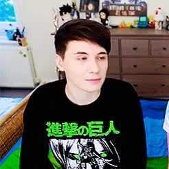 Watch and share Heart Eyes Howell GIFs and Daniel Howell GIFs on Gfycat