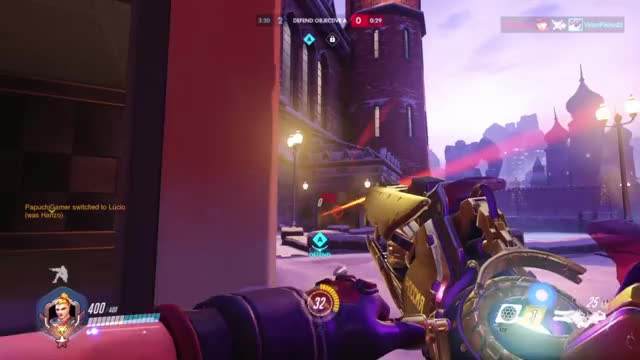 Overwatch widowmaker play of the game video