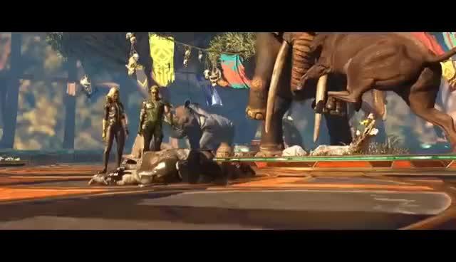 Watch and share Brainiac (Injustice 2) GIFs on Gfycat