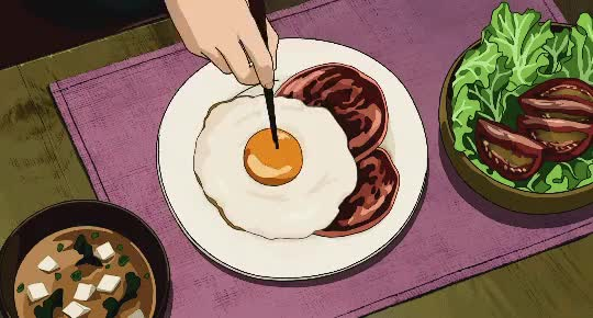Watch this anime GIF on Gfycat. Discover more anime, breakfast GIFs on Gfycat