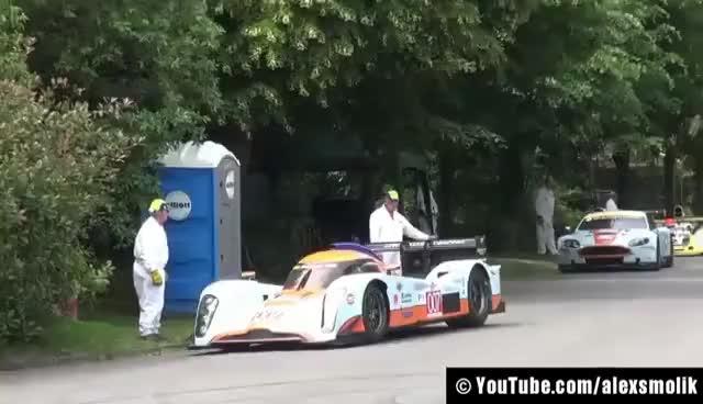 Watch and share Drift + Burnouts @ Goodwood PART 1 - Aston Martin Lola, Nissan GTR... GIFs on Gfycat