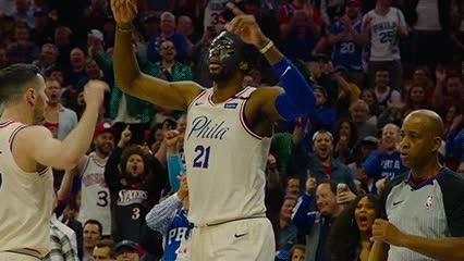 042418, Joel Embiid — Philadelphia 76ers GIFs