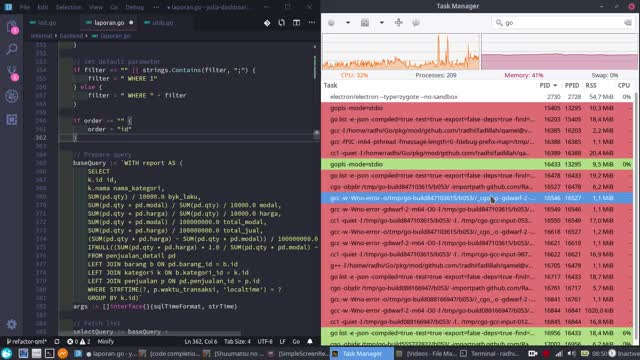 Watch and share VS Code Go - High CPU Usage - Language Server GIFs by acrophobic on Gfycat