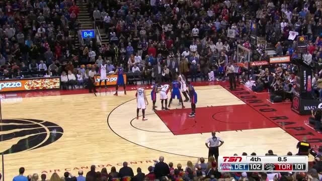 Watch and share (12.02.2017) - Pistons Game Winning Defense GIFs by whitehops on Gfycat