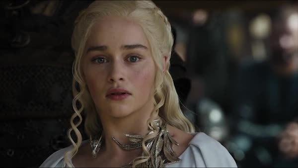 Emilia Clarke, Iain Glen, gameofthrones, highqualitygifs, insidejorahshead, Abandon Jorah GIFs