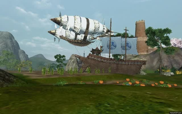 Watch and share Archeage GIFs and Airship GIFs by tenki on Gfycat