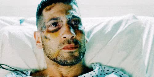 Watch and share The Punisher Frank Castle At Hospital Daredevil Season 2 ANIMATED GIF GIFs on Gfycat
