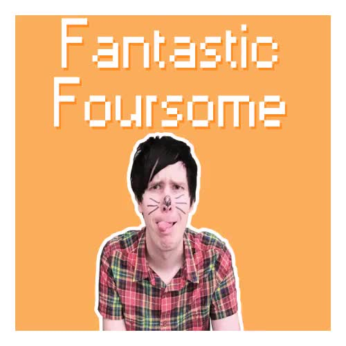 Watch and share Fantastic Foursome GIFs and Amazingphil GIFs on Gfycat