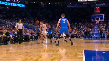Watch and share Mario Hezonja — Orlando Magic GIFs by Off-Hand on Gfycat