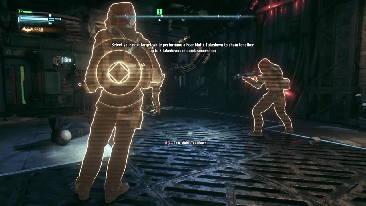 batmanarkham, ps4, Fear takedowns in Arkham Knight (PS4) GIFs