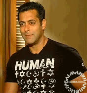 salman khan, ★ GORGEOUS smile on earth.. Beautiful smiling Gif of @BeingSalmanKhan during interview of #READY..! Bless Hm<3!!! GIFs