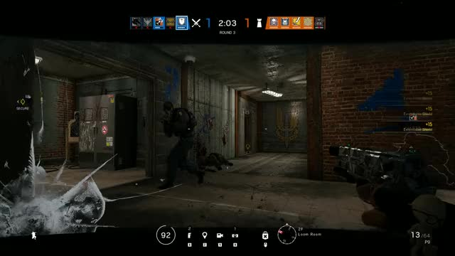 rainbow six siege shield glitch