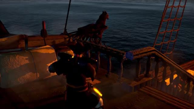 Watch shark GIF by Alexander452 (@alexander452) on Gfycat. Discover more Man o war: Corsair, Shark, combat, megladon, ship, shooting GIFs on Gfycat