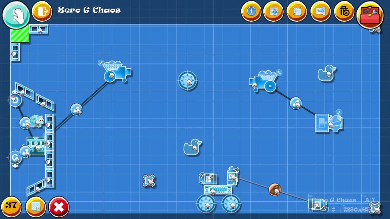 game, mobile game, physics, puzzle, The Chaotic Workshop - Sandbox GIFs
