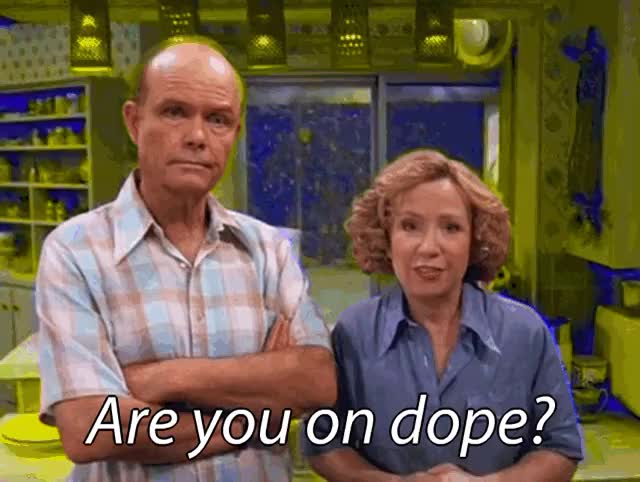 Watch and share That Show Red Forman Pyschedelic Favim Com GIFs on Gfycat
