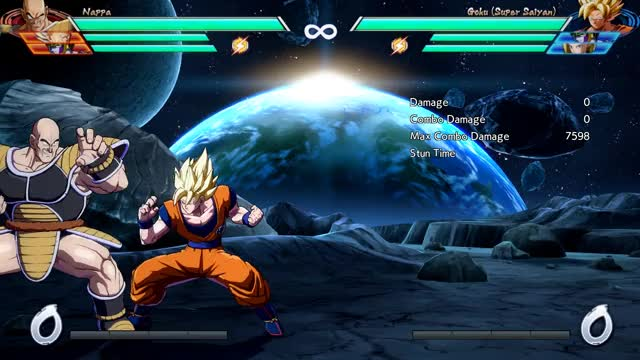 Watch Goku - Corner - 5M into 1-Super (most meter) - 5598 damage GIF by @robro on Gfycat. Discover more related GIFs on Gfycat