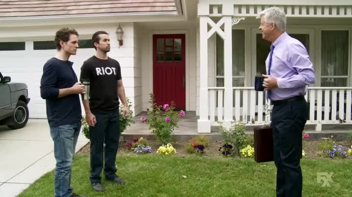 Glenn Howerton, Rob Mcelhenney, iasip, losangeles, Almost 90° in Los Angeles - this was my day GIFs