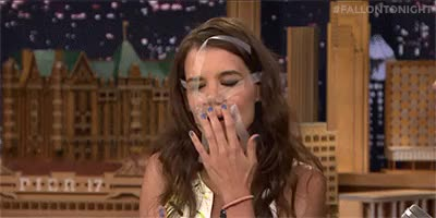 Watch and share The Tonight Show GIFs and Katie Holmes GIFs on Gfycat