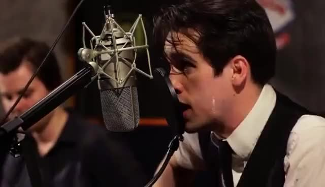 Watch Brendon Urie GIF on Gfycat. Discover more Brendon Urie, I write sins not tradgedies, Panic! At The Disco GIFs on Gfycat