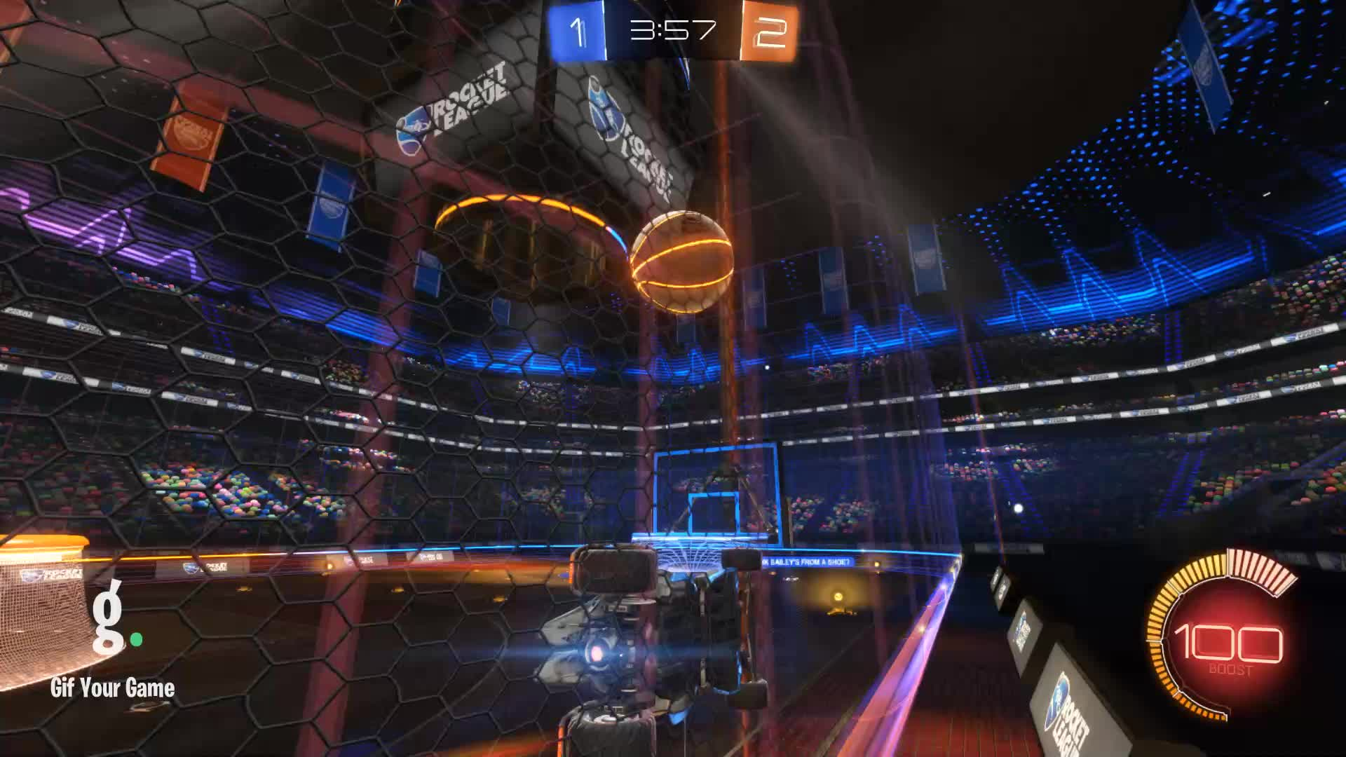 Gif Your Game, GifYourGame, Rocket League, RocketLeague, Stuffed Mushrooms, Stuffed Mushrooms Clip 1 GIFs