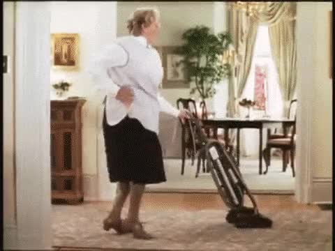 Watch and share Robin Williams Dancing While Vacuuming As Mrs. Doubtfire. GIFs on Gfycat