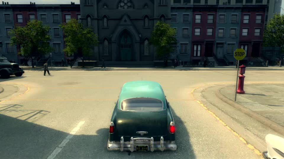 GamePhysics, gamephysics, [Mafia II] Uninvited Passenger (reddit) GIFs