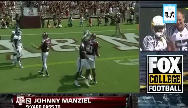 Watch this trending GIF on Gfycat. Discover more johnny manziel, johnny manziel ejected, texas, texas a&m football GIFs on Gfycat