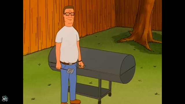 Watch and share Two Old Barbeques GIFs and King Of The Hill GIFs by sstteeaaddyy on Gfycat
