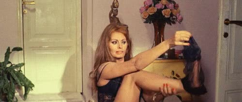 Watch this sexy GIF by Reactions (@sannahparker) on Gfycat. Discover more flirt, panty hose, sexy, silly, sophia loren GIFs on Gfycat
