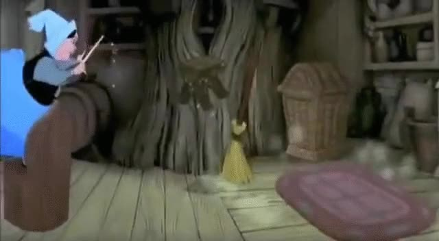 Watch and share Sleeping Beauty - Cleaning The House GIFs on Gfycat