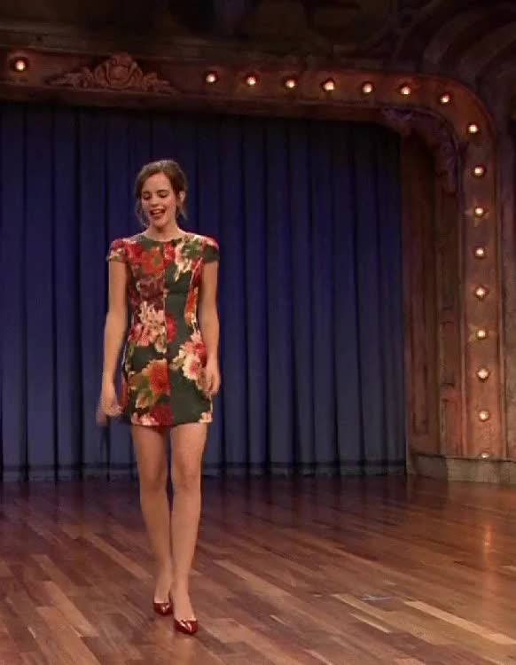 Watch and share Emma Watson Twisting : SexyWomanOfTheDay GIFs on Gfycat