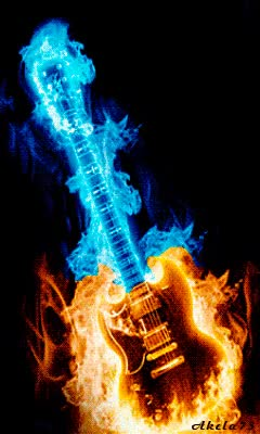 Watch and share Guitar On Fire GIFs on Gfycat