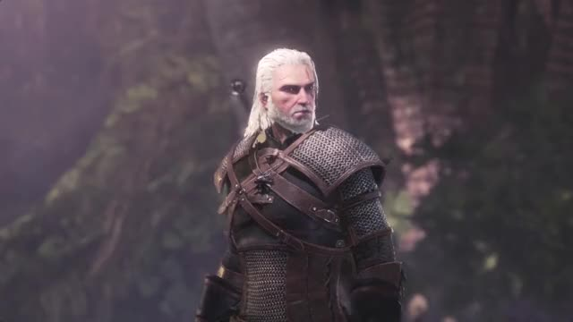 Watch this witcher GIF by @thepaleman on Gfycat. Discover more Cat, Cutscene, Gaming, Geralt, Geralt of Rivia, Gift, Meow, Monster Hunter, Monster Hunter Cutscene, Monster Hunter World, Palico, Palico Meowing, Palicoes, Sharing, Witcher, Witcher 3, kitties, mhw, mhw x witcher, mhw x witcher 3 GIFs on Gfycat