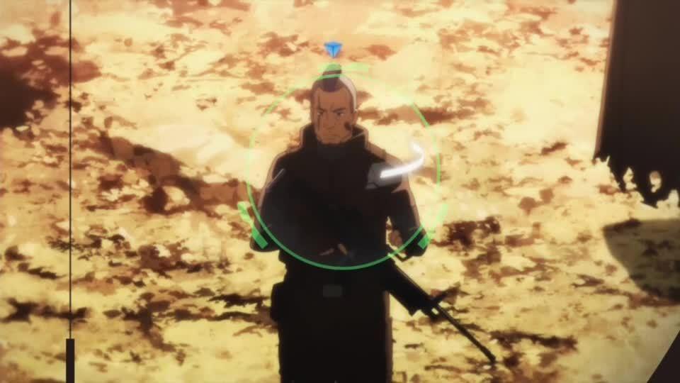 anime, reddit, swordartonline, SAO II E01 - Sinon Sniping GIFs