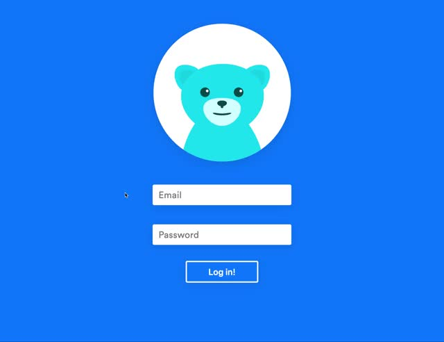 Watch and share Login Bear! GIFs on Gfycat