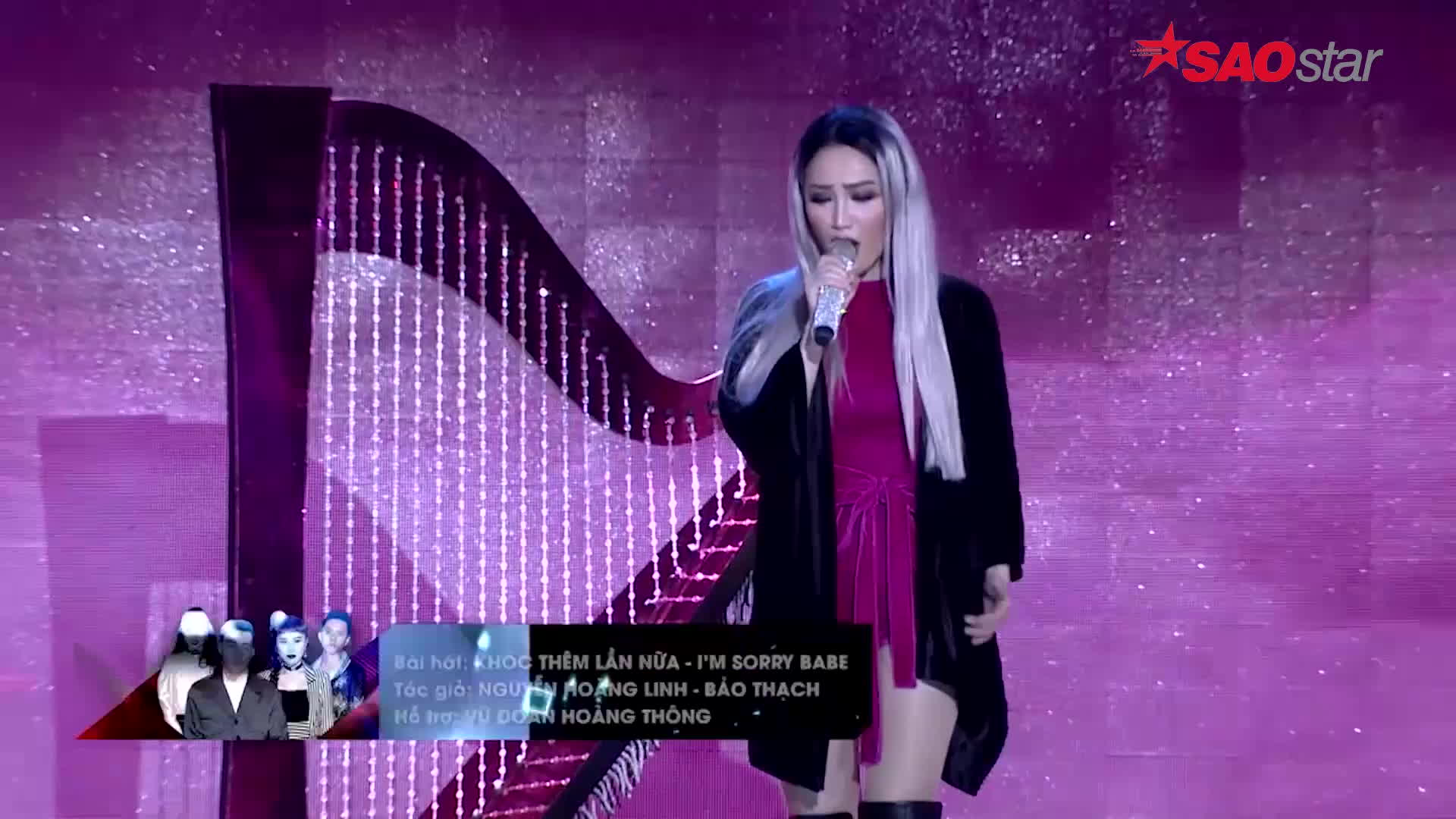 Bảo Thy lại khiến fan vỡ òa khi mang hit cũ lên sân khấu Remix New Generation 2017