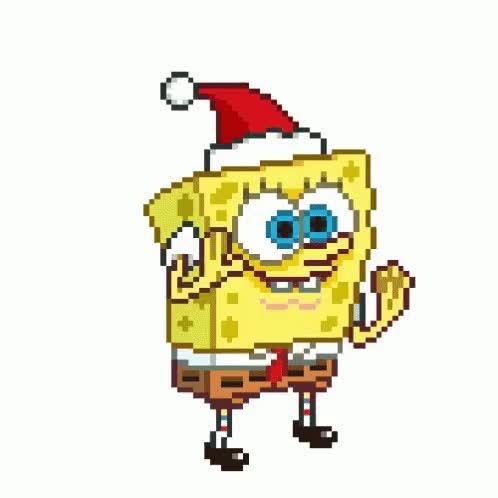 Watch and share Sponge Bob Christmas GIFs on Gfycat