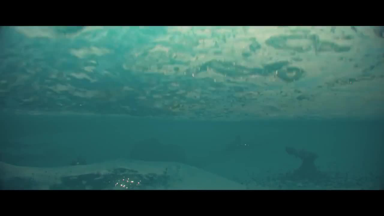 Aliens, cinematic, crash, diving, launch, ocean, spaceship, subnautica, underwater, Subnautica Cinematic Trailer GIFs