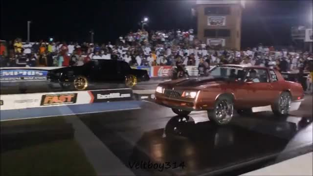 Watch and share Veltboy314 - Monte Carlo Blows The Wheels Off (Literally) Track Mania Car Show 2K17, Memphis, TN GIFs on Gfycat