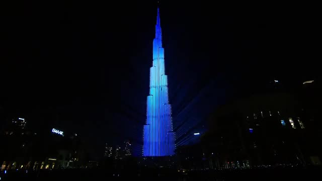 Watch Dubai's 2018 New Year's Guinness World Record Attempt for the world's biggest laser light show GIF by two_inches on Gfycat. Discover more 2018, Dubai GIFs on Gfycat