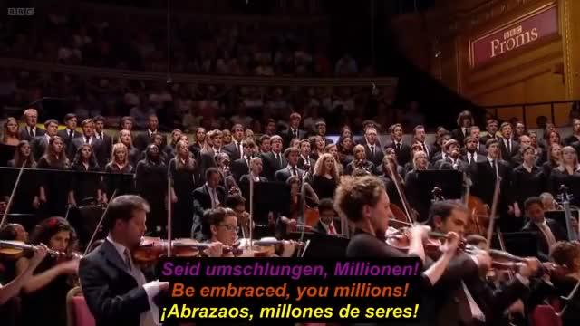 """Sinfonía Nº 9, en Re menor, Op. 125 """"Coral"""". Ludwig van Beethoven (Germ./ Engl./ Span. subtitles)"""